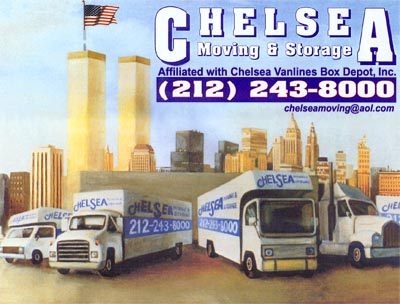 Marvelous Manhattan Movers   Chelsea Movers, NYC Movers, Storage, Boxes   Original  Painting